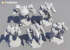 BattleTech Clan Heavy Battle Star