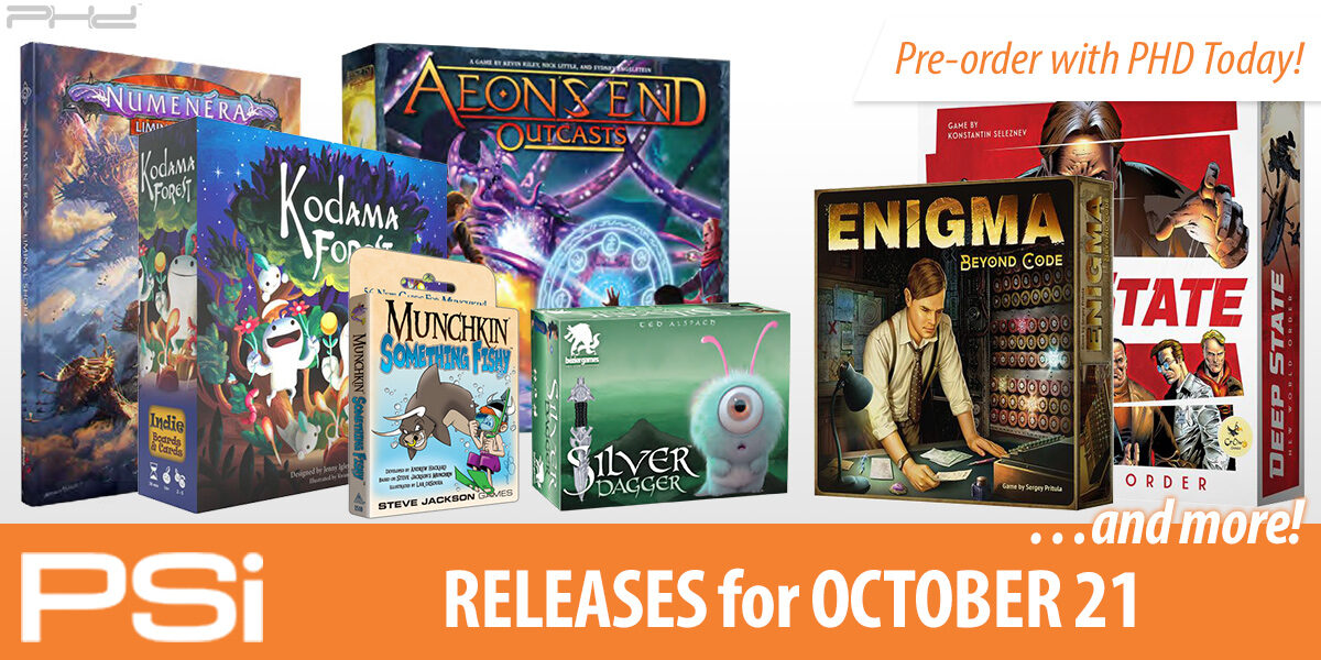 PSI October 7 Releases