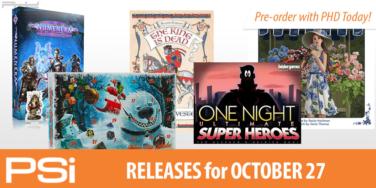 PSI October 27 Releases