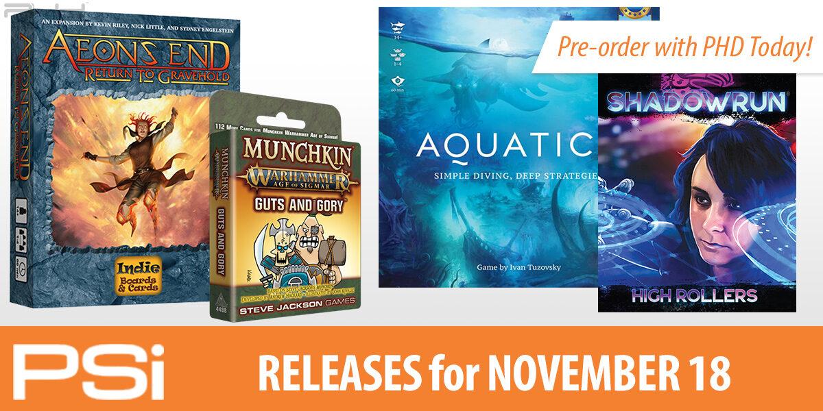 PSI November 18 Releases