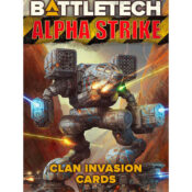 BattleTech Alpha Strike Clan Invasion Cards