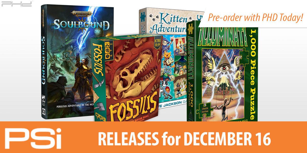 PSI December 16 Releases