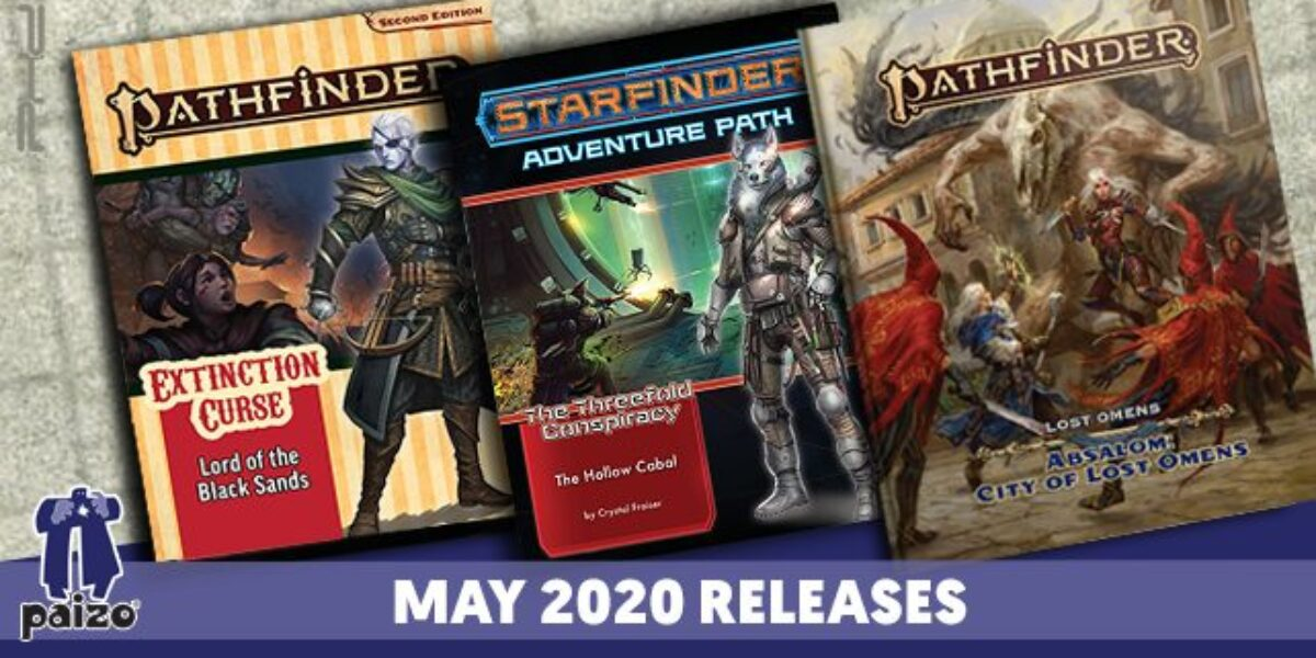 Pathfinder & Starfinder Solicitations for May – Paizo