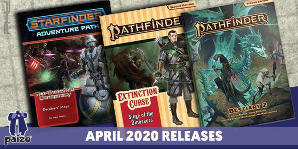 Pathfinder & Starfinder Solicitations for April – Paizo