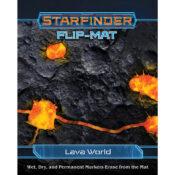 Starfinder Flip-Mat: Lava World