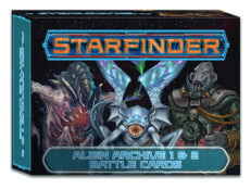 Starfinder: Alien Archive 1 & 2 Battle Cards (PZO7425)