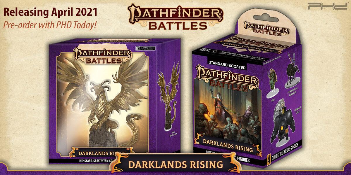 Pathfinder Battles: Darklands Rising — WizKids