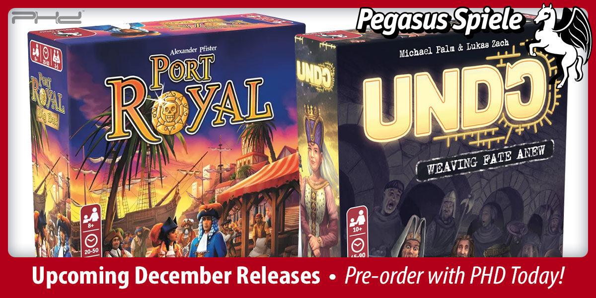 Pegasus Spiele December 2021 Releases