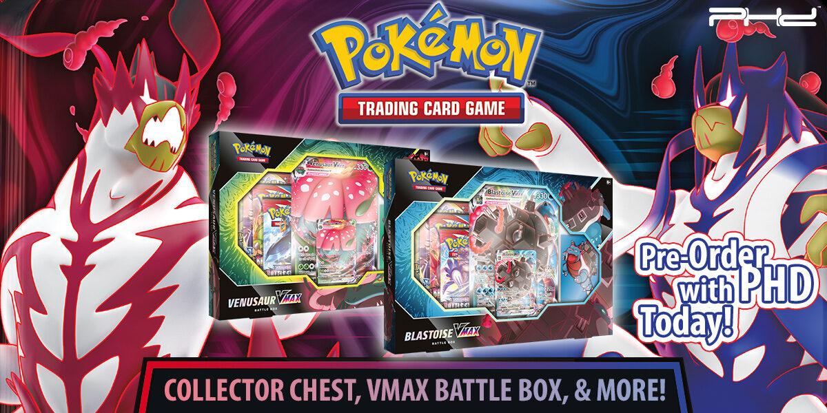 Pokémon: Venusaur & Blastoise VMAX Battle Box and More!