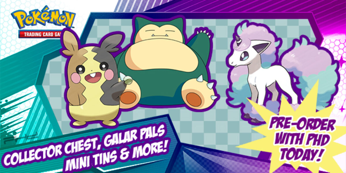 Galar Pals Mini Tin, Collector Chest, and More — Pokémon