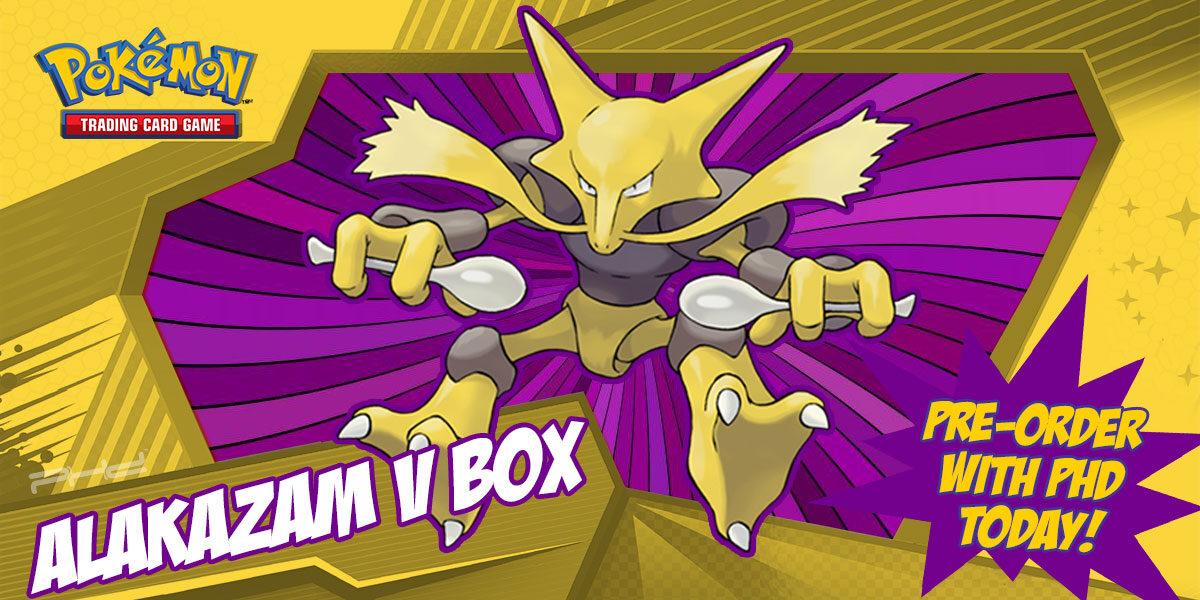 Pokémon: Alakazam V Box