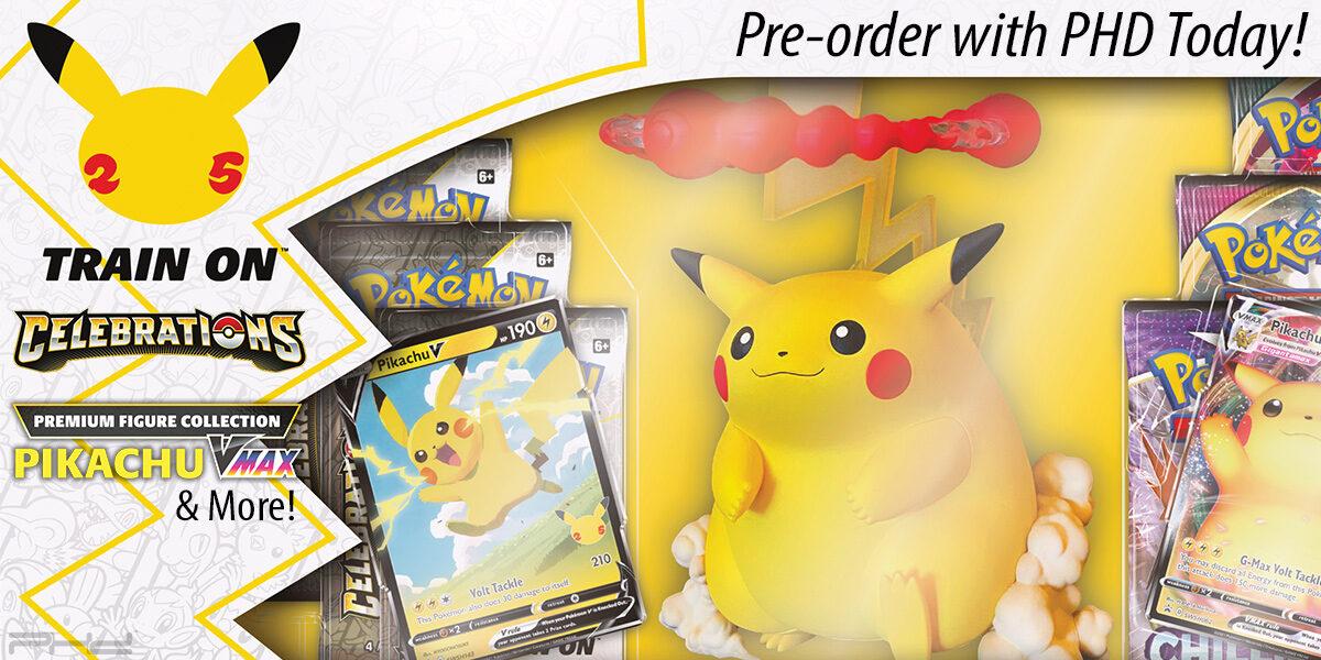 Pokémon Celebrations Ultra-Premium Collection & More