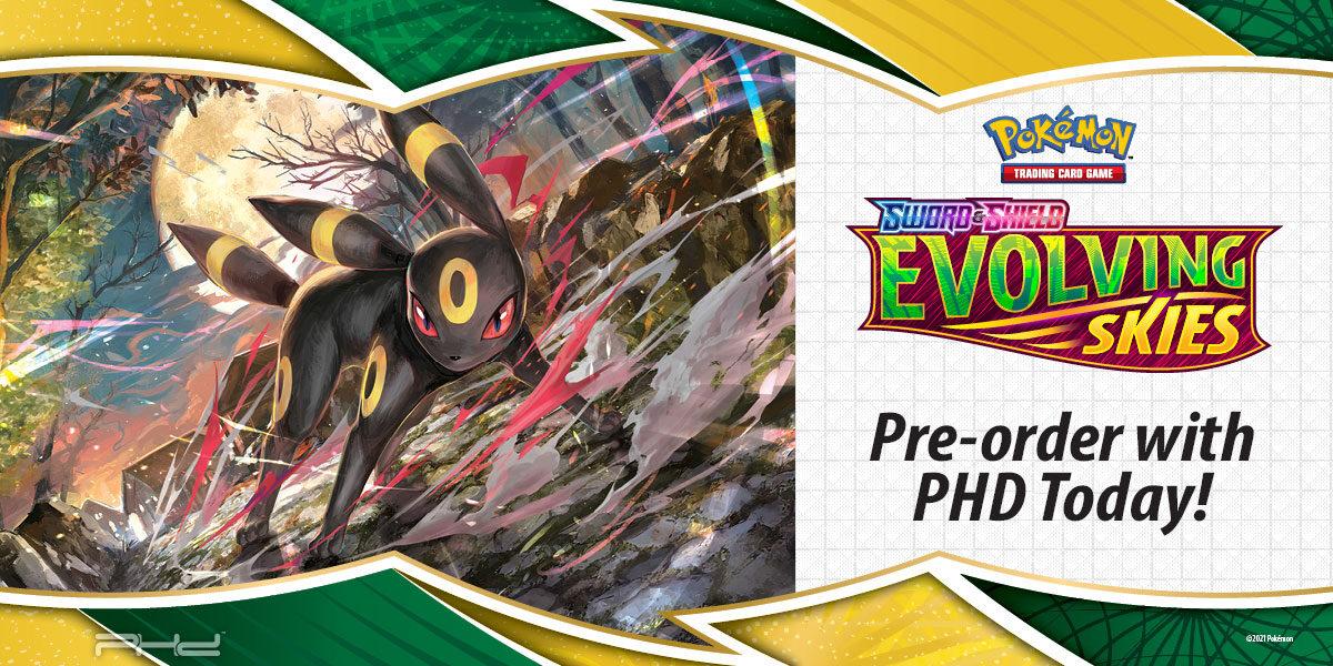 Pokémon: Sword & Shield — Evolving Skies