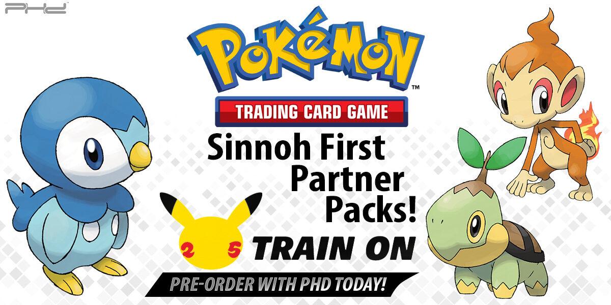 Pokémon TCG: First Partner Pack — Sinnoh