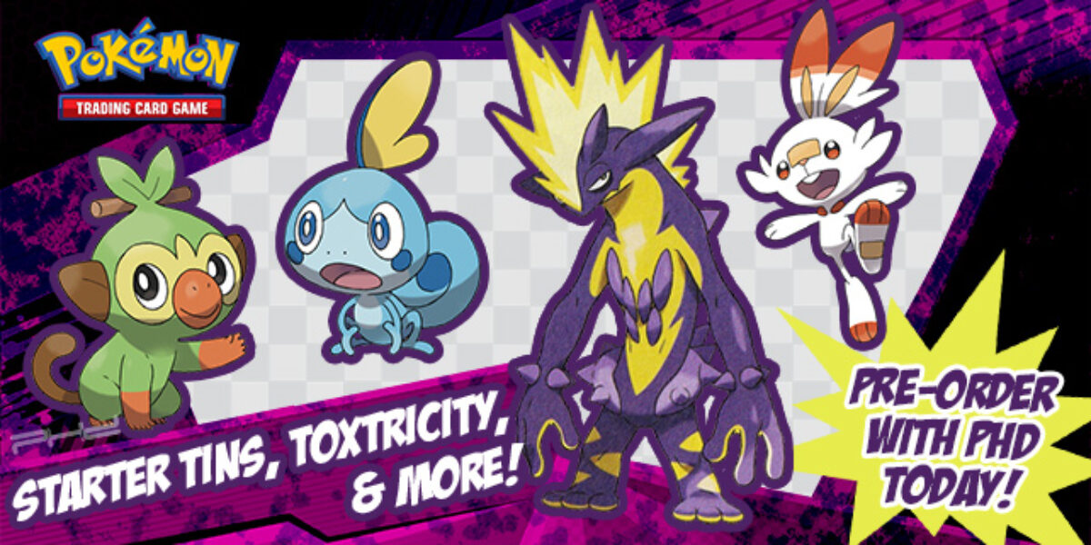 Toxtricity V, Galar Partners, and More — Pokémon TCG