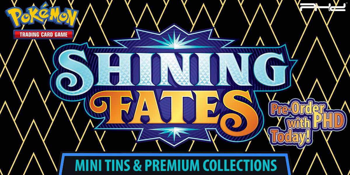 Pokémon: Shining Fates — Premium Collection & Mini Tin
