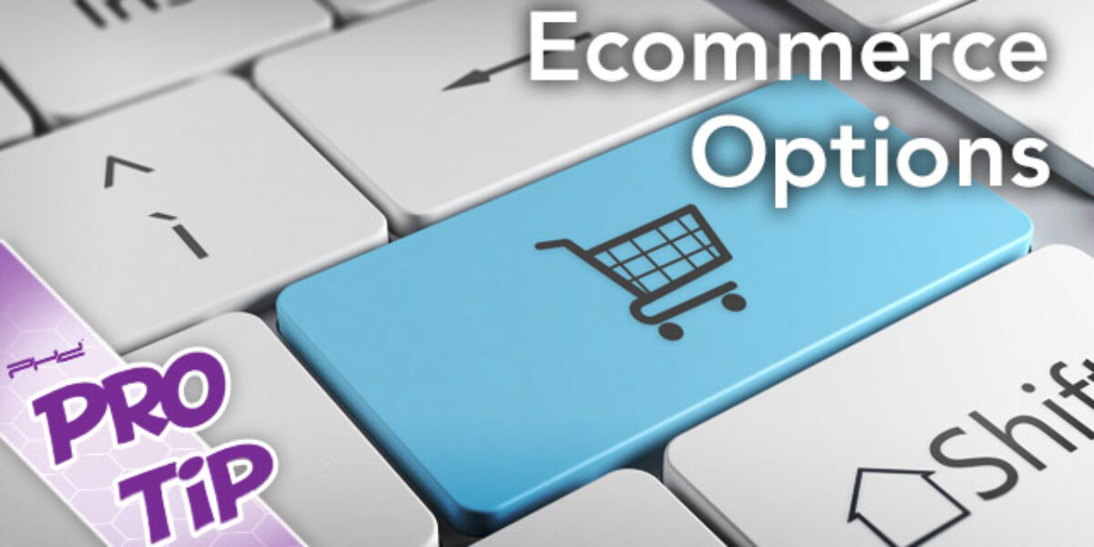 Ecommerce option for gaming retail stores