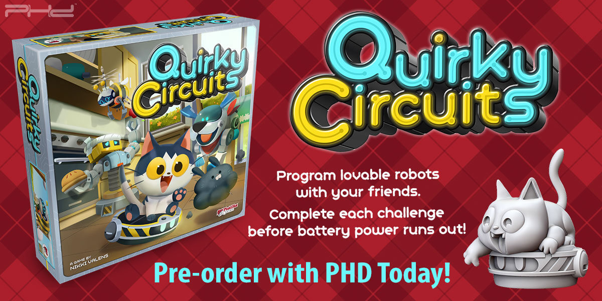 Quirky Circuits — Plaid Hat Games