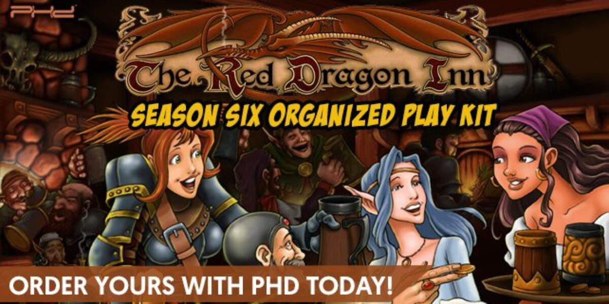 The Red Dragon Inn: Season Six Organized Play Kit – SlugFest Games