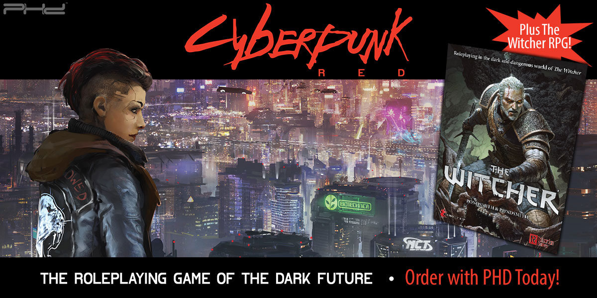 Cyberpunk Red & The Witcher RPGs — R. Talsorian Games