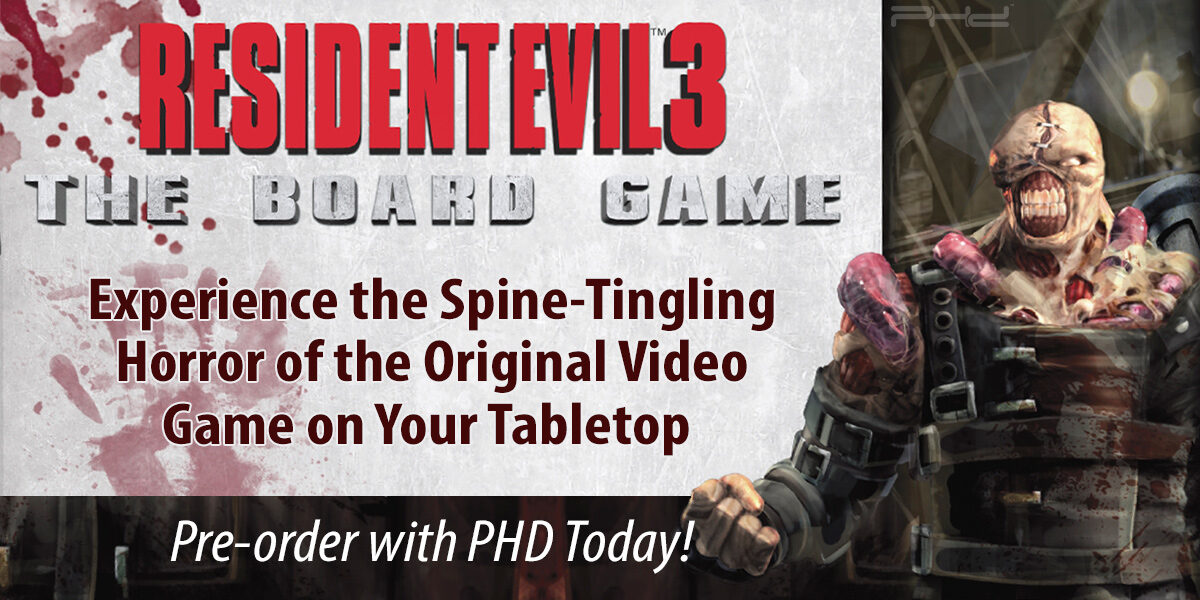 Resident Evil 3: The Board Game & The City of Ruin Expansion — Steamforged Games