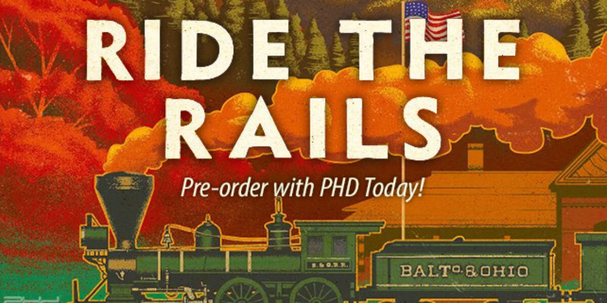 Ride the Rails — Capstone Games