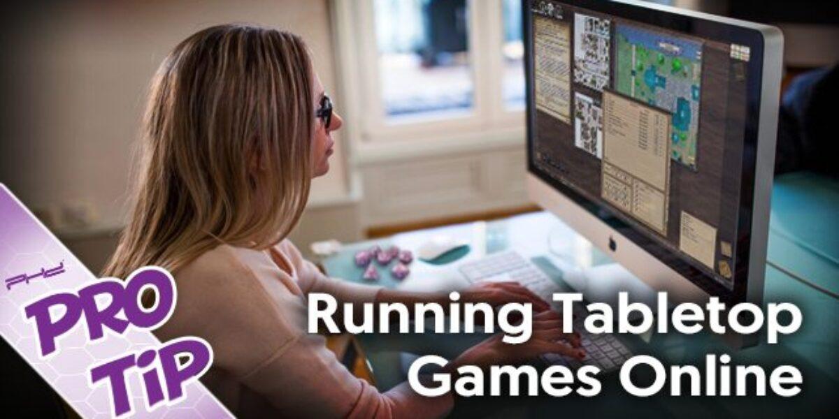 Running Tabletop RPGs Online