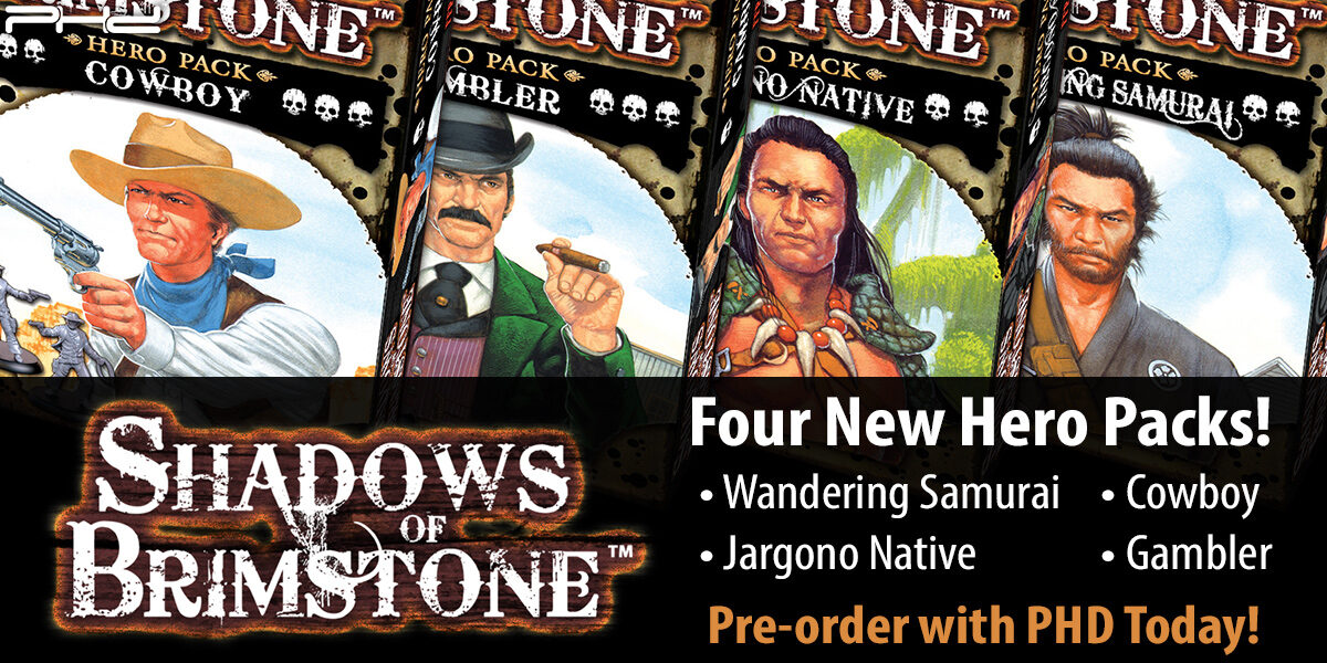 Shadows of Brimstone April & May Expansions — Flying Frog Productions