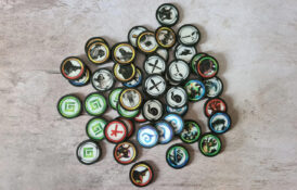 48 Miscellaneous Poker Chips