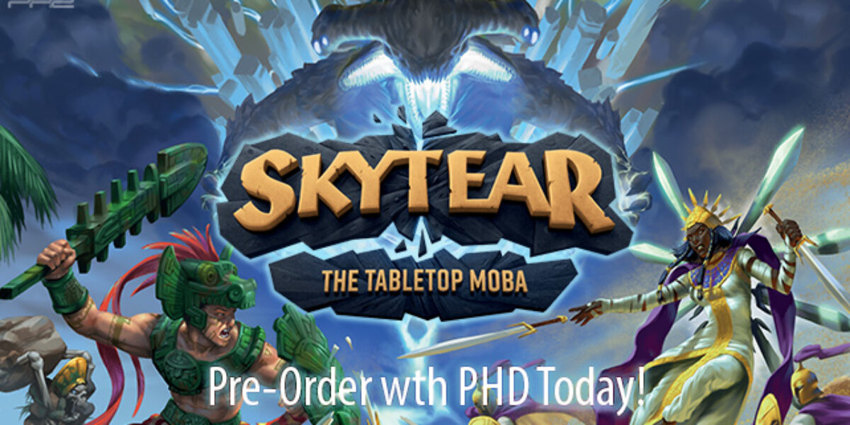 Skytear: The Tabletop MOBA — PVP Geeks