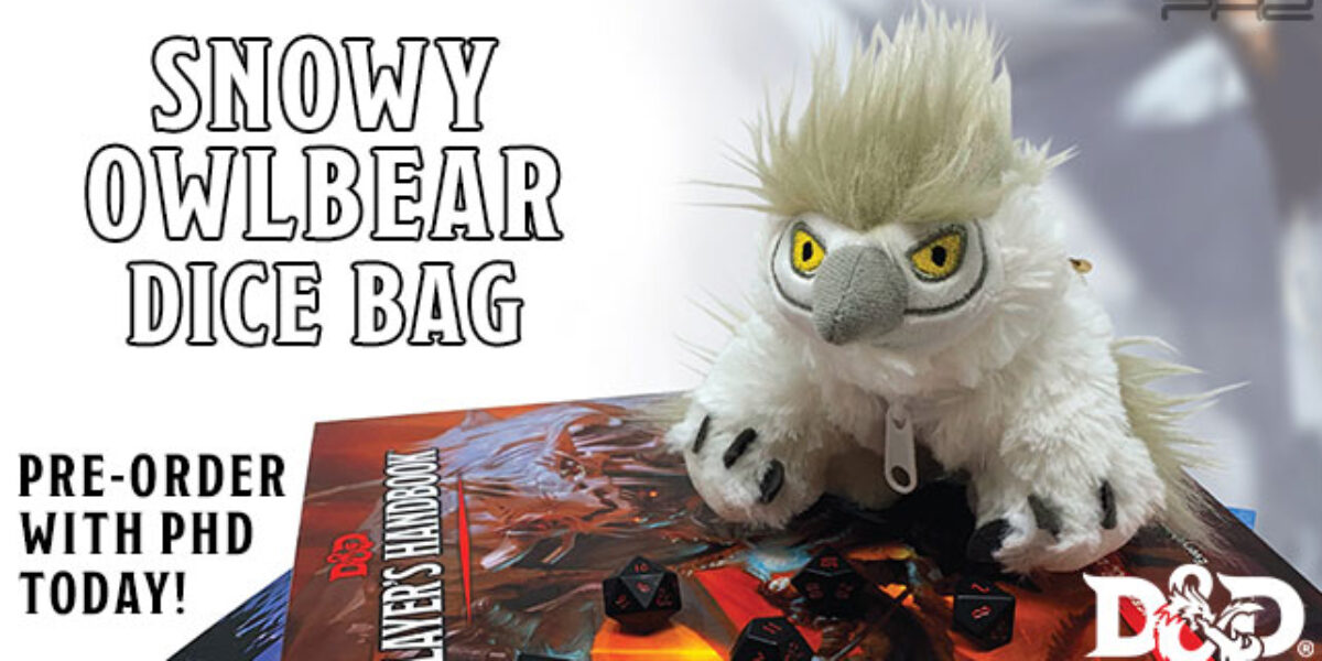 Dungeons & Dragons Snowy Owlbear Gamer Pouch — Ultra•PRO