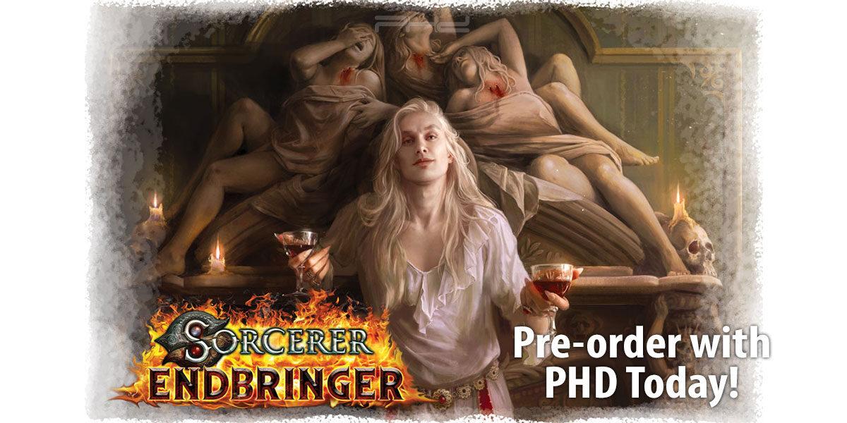 Sorcerer Endbringer & Other Expansions — Wise Wizard Games