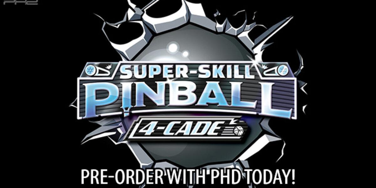 Super-Skill Pinball: 4-Cade — WizKids