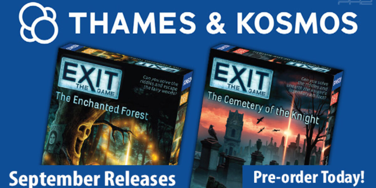 EXIT: The Enchanted Forest & The Cemetery of the Knight — Thames & Kosmos