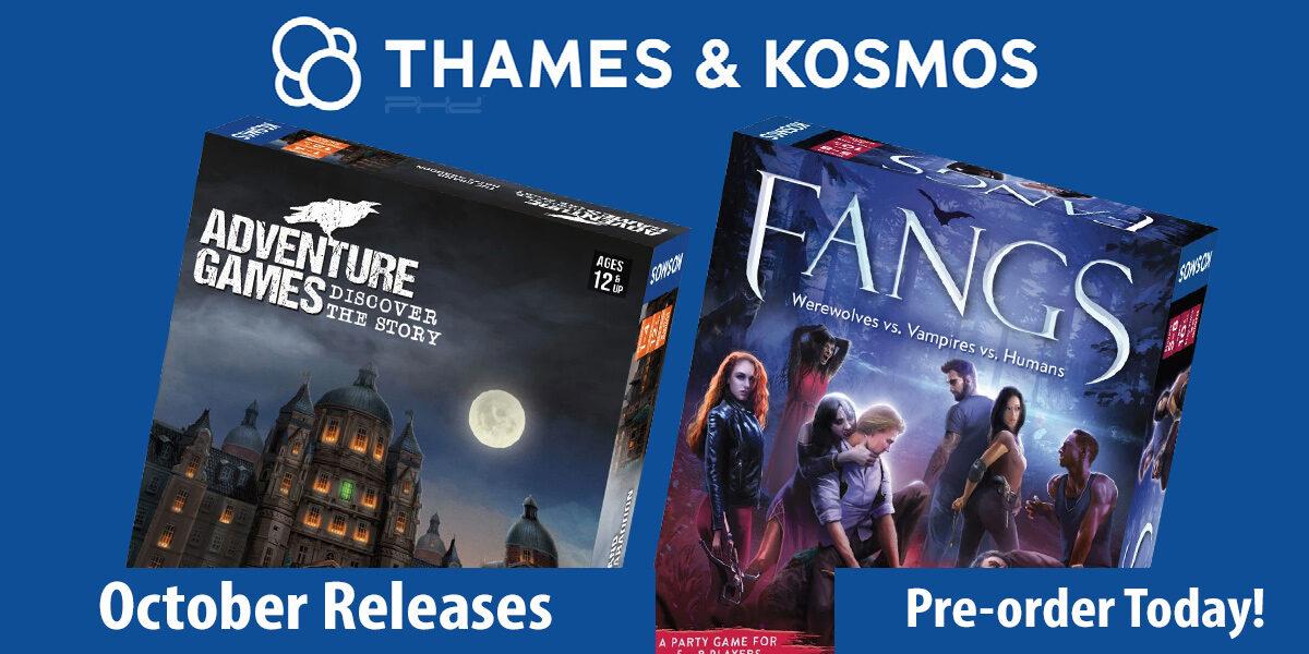 Fangs & Adventure Games: The Grand Hotel Abaddon — Thames & Kosmos