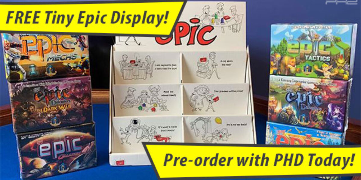 Tiny Epic Displays — Gamelyn Games