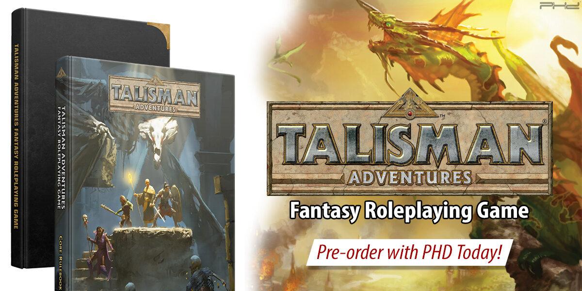 Talisman Adventures RPG — Pegasus Spiele