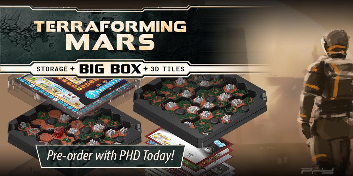 Terraforming Mars: Big Box Storage & 3D Tiles — Stronghold Games