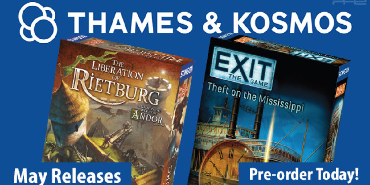 EXIT: Theft on the Mississippi & The Liberation of Rietburg — Thames & Kosmos