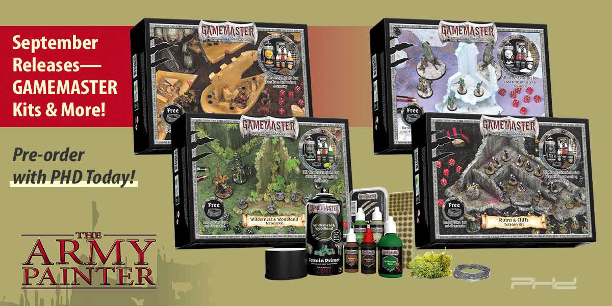 GAMEMASTER Terrain Kits and More — The Army Painter