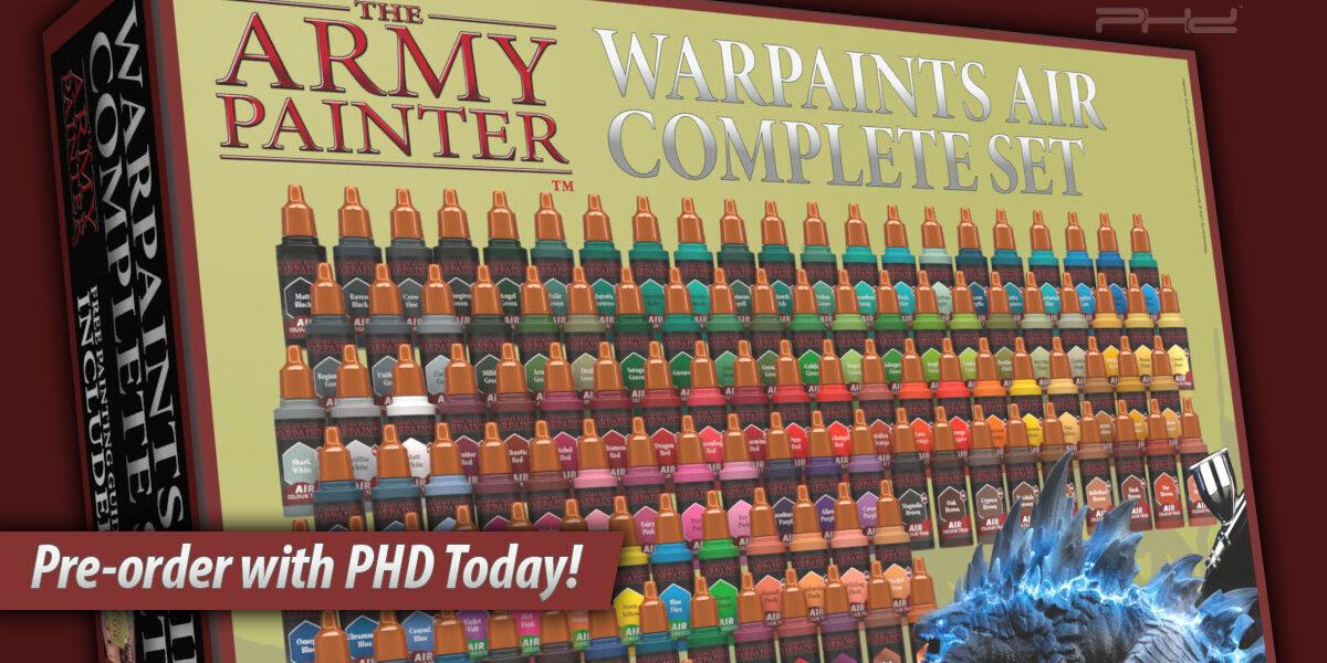 Warpaints Air Complete Set — The Army Painter