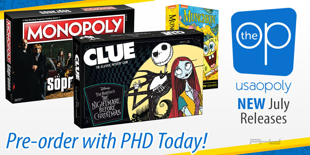 The Nightmare Before Christmas Clue and More — The Op
