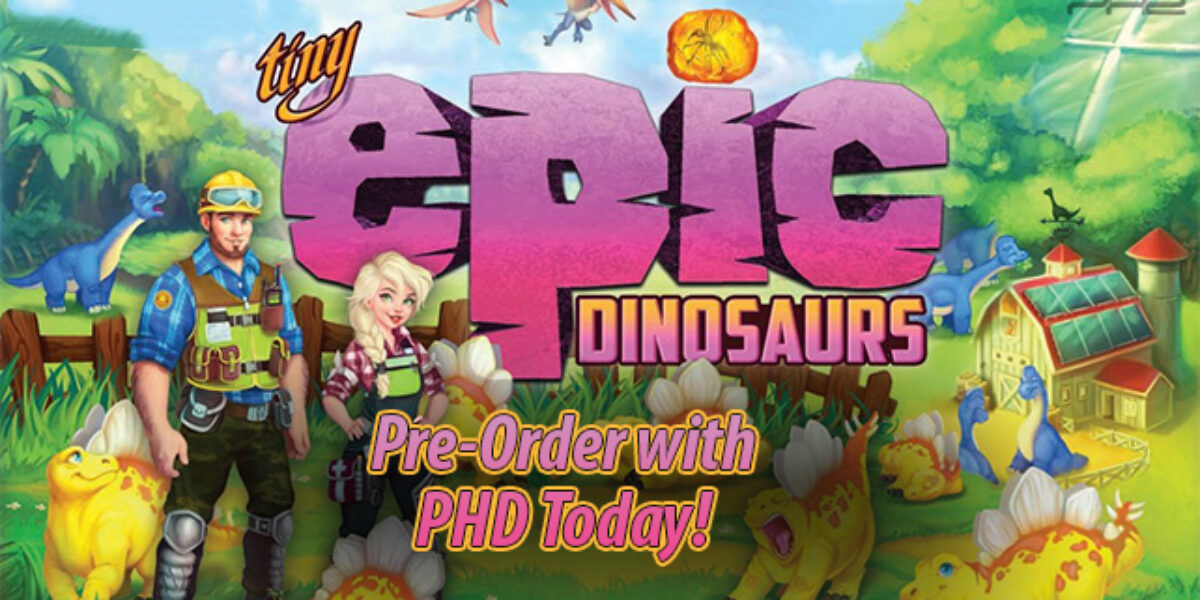 Tiny Epic Dinosaurs — Gamelyn Games