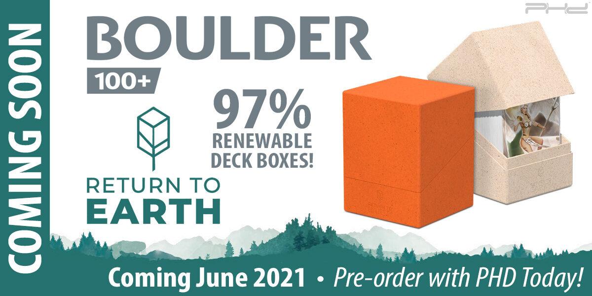 Return to Earth: Boulder 100+ — Ultimate Guard