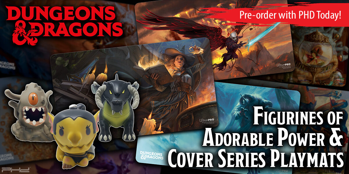 D&D New Figurines of Adorable Power and Cover Series Play Mats — Ultra•PRO