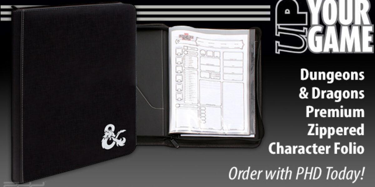 Dungeons & Dragons Premium Zippered Character Folio — Ultra•PRO