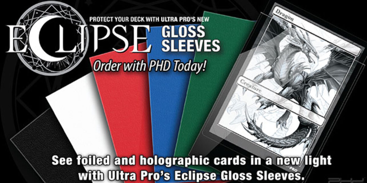 NEW Eclipse Gloss Sleeves — Ultra•PRO