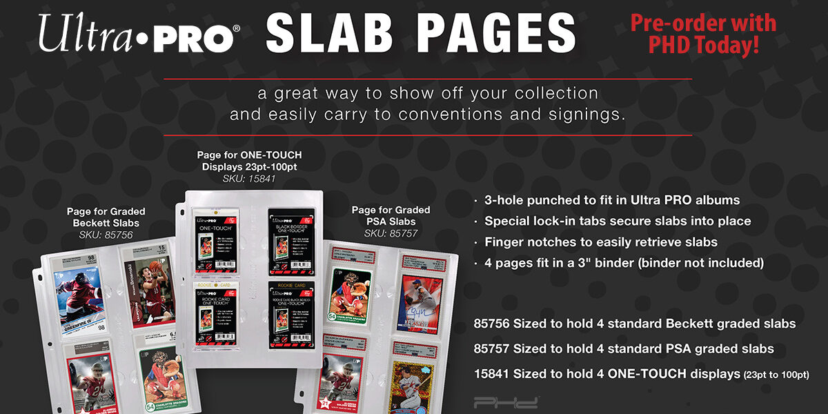 Graded Slab & ONE-TOUCH Pages — Ultra•PRO
