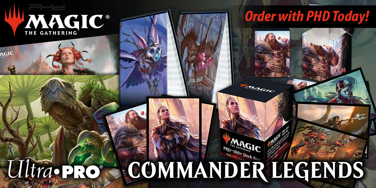 MTG Commander Legends Accessories — Ultra•PRO