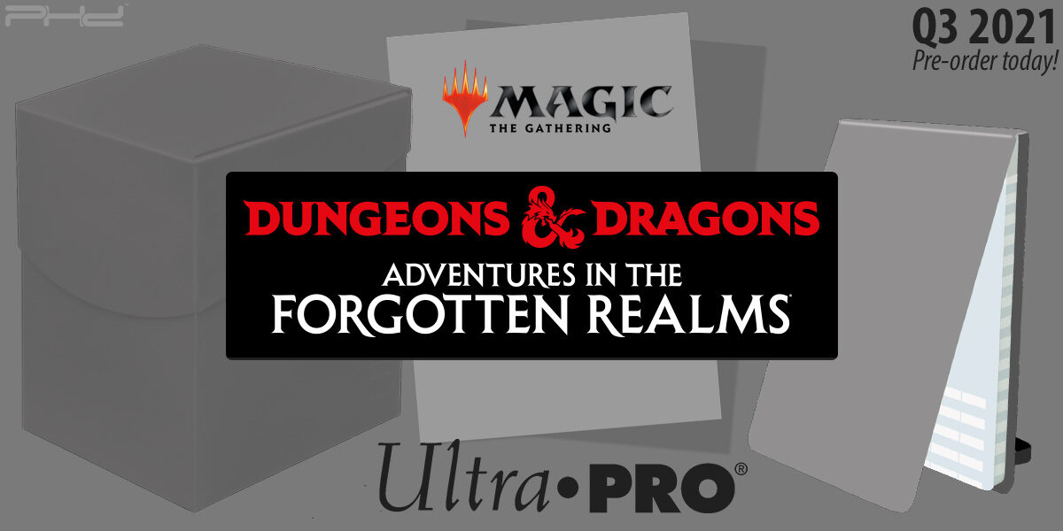 MTG Accessories: D&D Adventures in the Forgotten Realms — Ultra•PRO